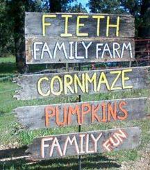 Fieth Family Farm Sign